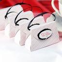 Handtasche geformt Geschenkboxen (Satz von 12)
