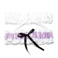 2-Teilig Satiniert Hochzeit Strumpfbänder