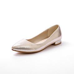De mujer Tela Tacón plano Planos Cerrados zapatos