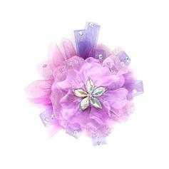 Beau Cristal En Tulle Fleurs