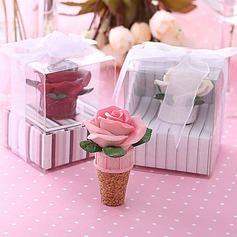 Härlig Blomma Form Flaskproppar
