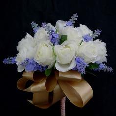 Spécial Attaché à la main Satin Bouquets de demoiselle d'honneur