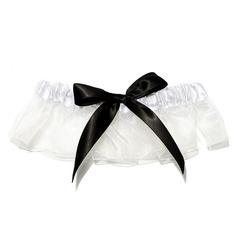 Charmant Satiniert Hochzeit Strumpfbänder