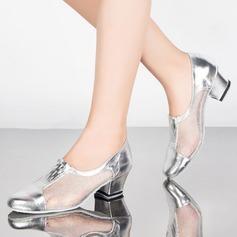 Women's Lace Pumps Practice Dance Shoes