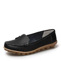 De mujer Piel Tacón plano Planos zapatos