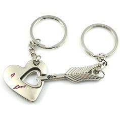 Amors Pfeil Zink Legierung Schlüsselanhänger (Set aus 4 paar)
